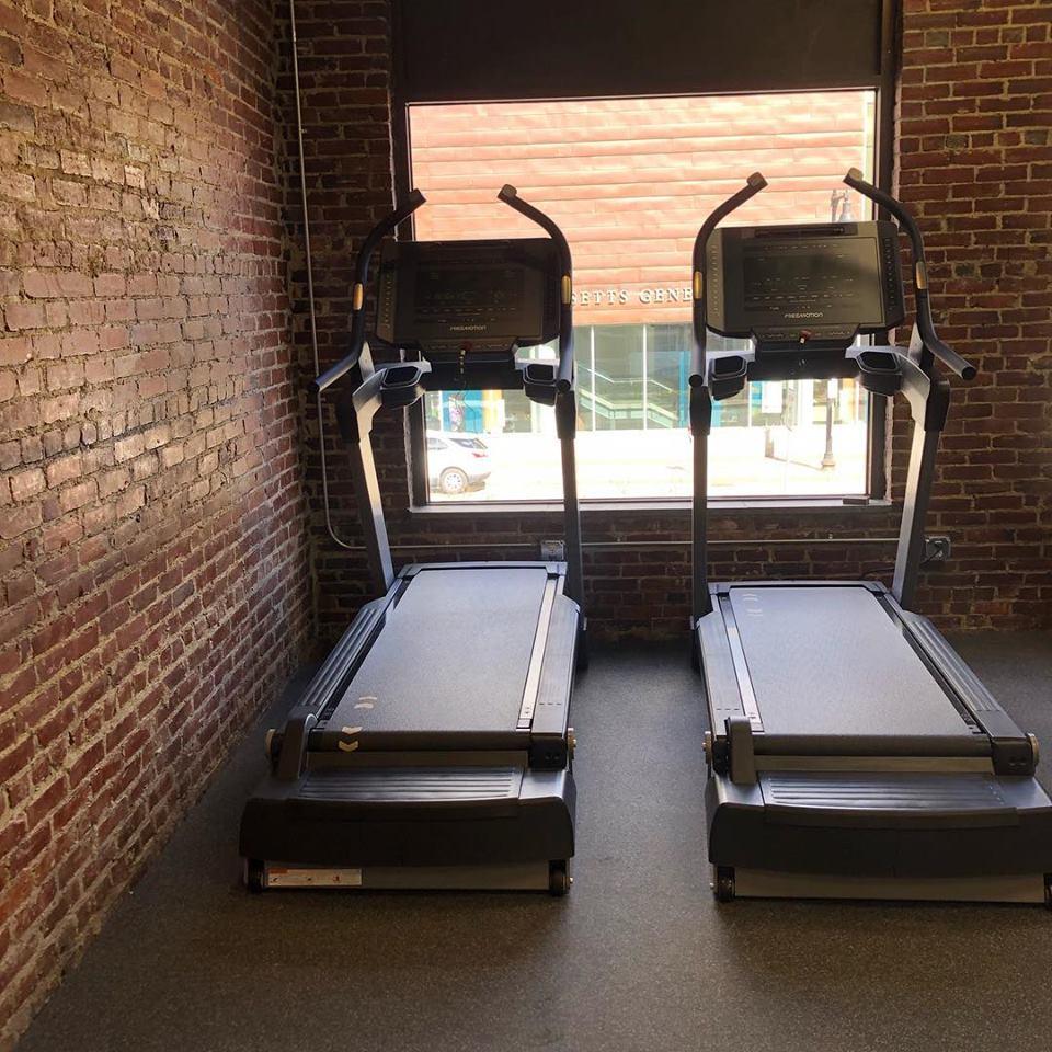 REPS studio treadmills