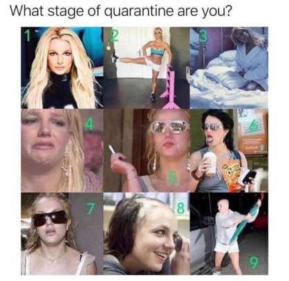 Britney quarantine